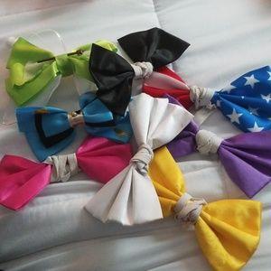 8 hairbows